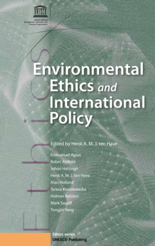 Environment Ethics and international Policy
