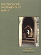 Inventory of Monuments at Pagan Vol. 3