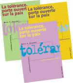 La tolérance, porte ouverte sur la paix