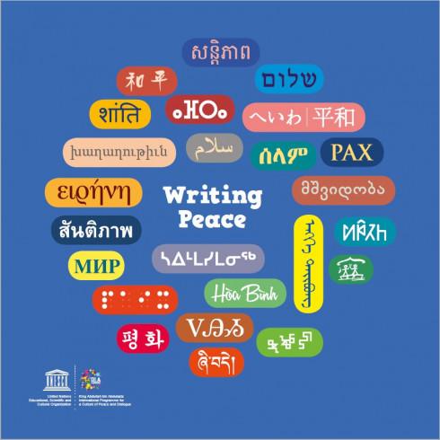 Writing peace
