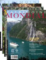 Abonnement : Patrimoine Mondial (1 an)